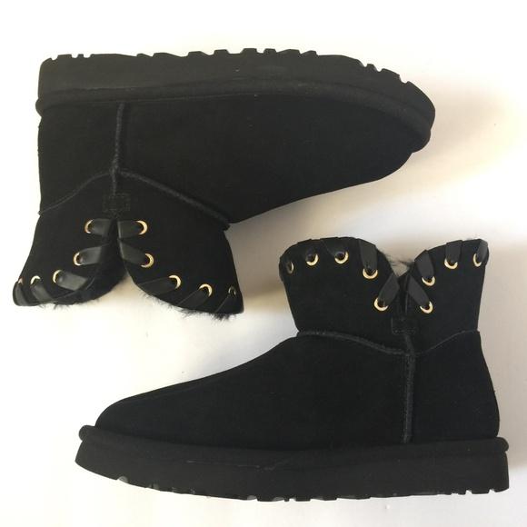 ugg black booties